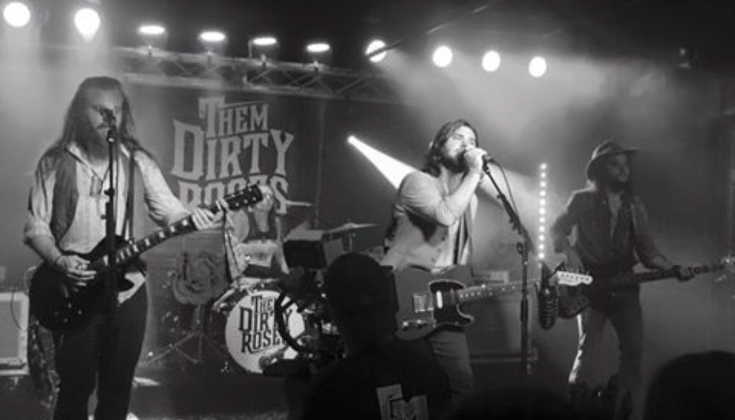 Music City unsigned artists Them Dirty Roses rocks out