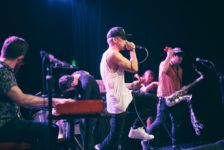 Stealing Oceans live band hip hop