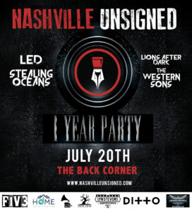 nashville unsigned one year birthday party bash