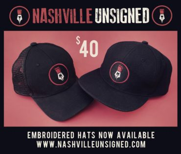 Nashville Unsigned Embroidered Hat