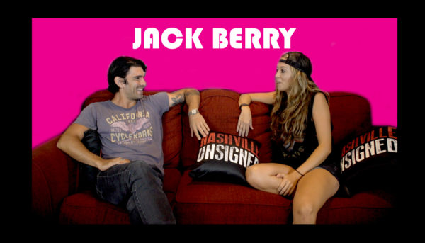 Nashville Unsigned featured artist Jack Berry