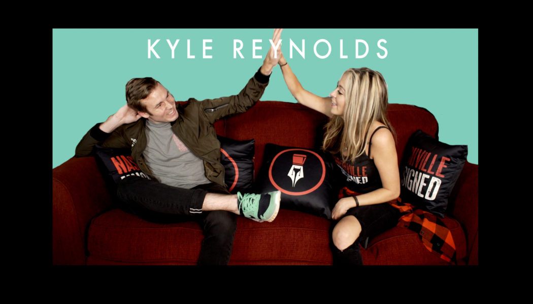 Nashville Unsigned featured artist Kyle Reynolds sits down on the Red Couch for an artist interview