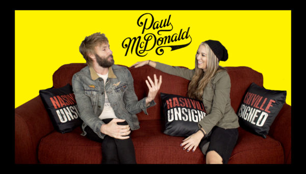 Nashville Unsigned featured artist Paul McDonald Interview