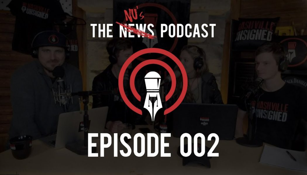 THE NUS PODCAST episode 2 your band as a business with the crew from Nashville Unsigned