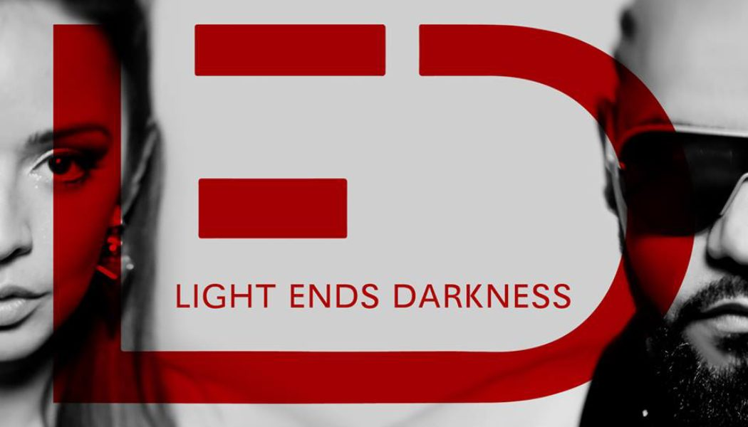 light ends darkness, shine bright, edm, electronic, pop, rock, soul, hop hop