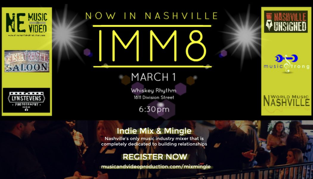 networking event, indie mix and mingle, imm8, building relationships, whiskey rhythm
